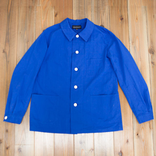 COOCHUCAMP : Happy shirt jacket / blue