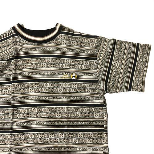 90's Alien Workshop オリエンタル風 総柄Tシャツ