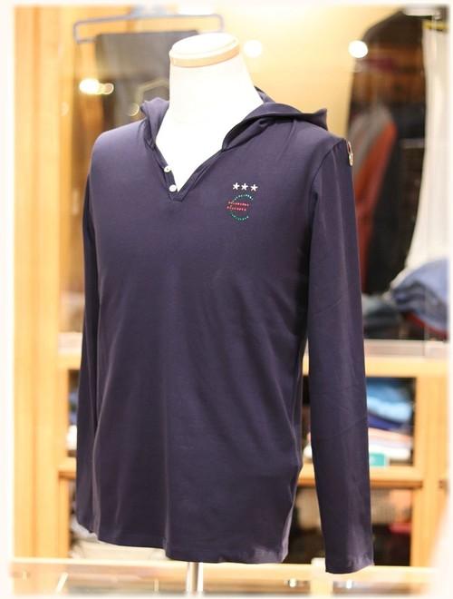USUALIS collection           ウザリスコレクション  - Italy -     フード付き 長袖Tシャツ