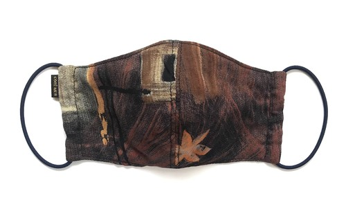 【COTEMER 総柄マスク 日本製】OVERALL PATTERN SHIRTS MASK M0525048