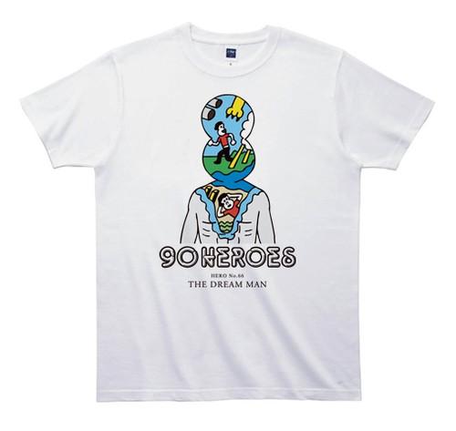 《JUN OSONTシャツ》90HEROES TJC066/ 【夢マン】