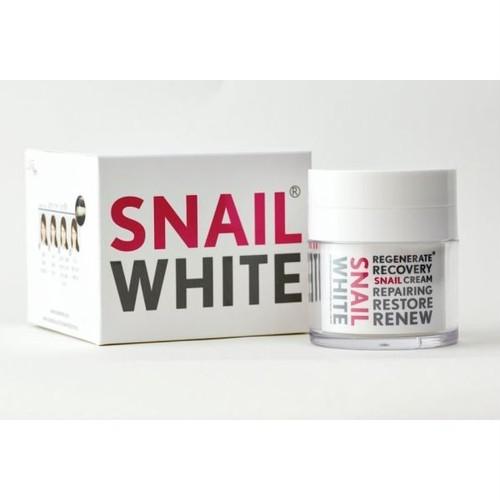かたつむり ホワイト フェイシャルクリーム / SNAIL WHITE Facial Cream 50g