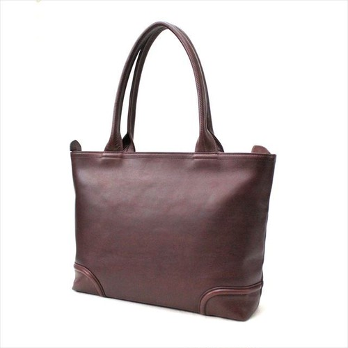 FIVE WOODS 「PLATEU」 A4 TOTE <BURGUNDY>