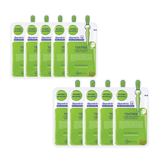 MEDIHEAL TEATREE care solution★10枚SET★国内発送★