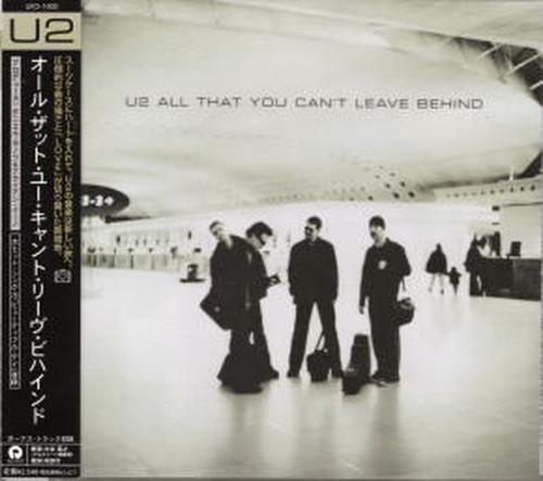 U2 / オール・ザット・ユー・キャント・リーヴ・ビハインド