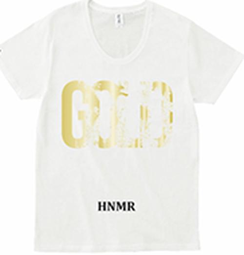 日の毬 GOLD L ホワイトT