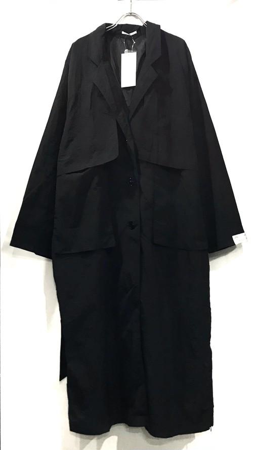 【10月初旬入荷 予約分】 keisuke yoneda Back Open botão over coat