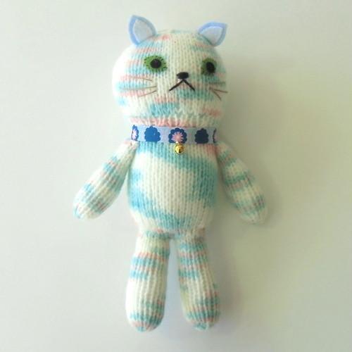 編みぐるみ     (抱っこちゃんブルー)