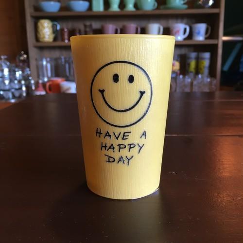 VINTAGE 1970's happy face タンブラー小