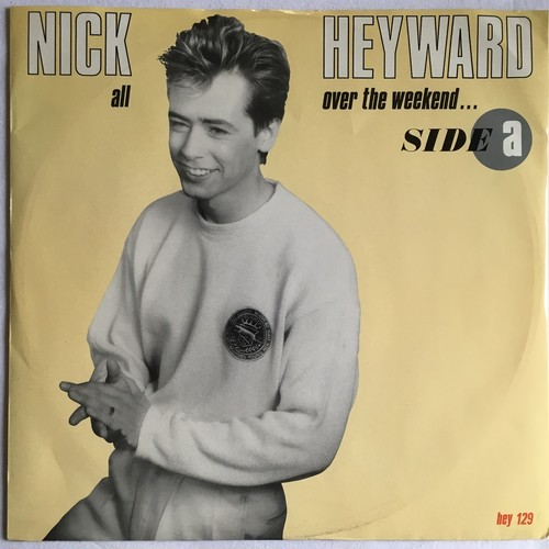 【12inch・英盤】Nick Heyward / All Over The Weekend