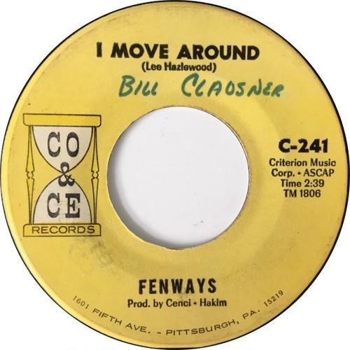 Fenways – I Move Around / A-Go-Go