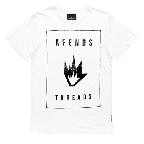 Afends★アフェンズ★Tシャツ★Threads★WHITE