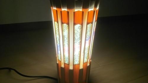 【いやしとやすらぎの空間】を演出する 青森ヒバ 木製 ランプシェード   No.   0018