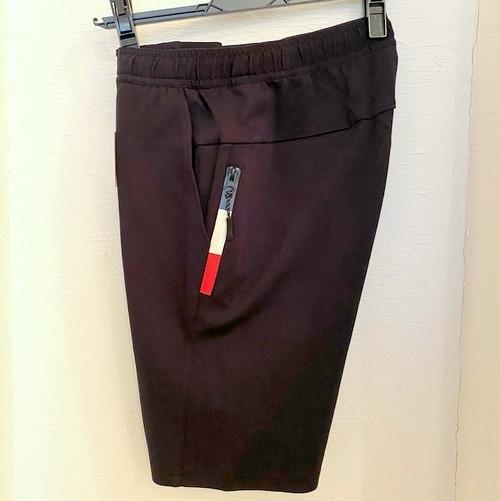 Toricolor-Zip Short Pants Black