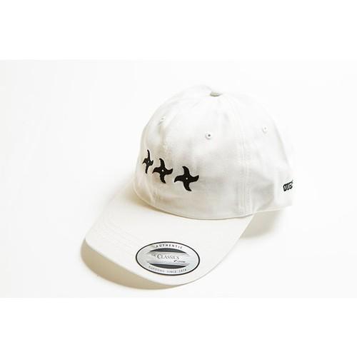 手裏剣CAP(ホワイト)