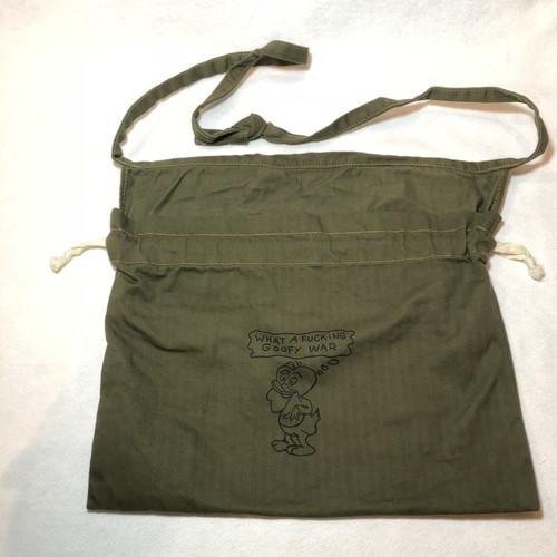 "3-Way Red Cross Bag, O.D.Green, ""What A Fucking Goofy War"""