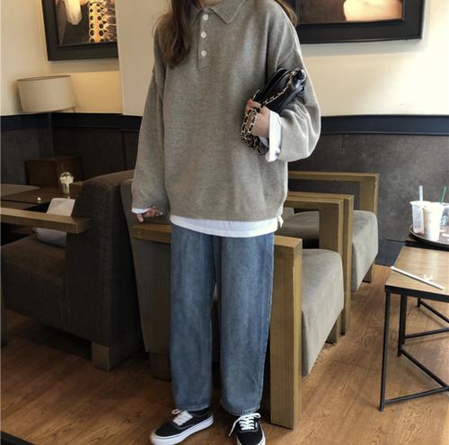 【お取り寄せ商品】カジュアルプルオーバーセーター 7967