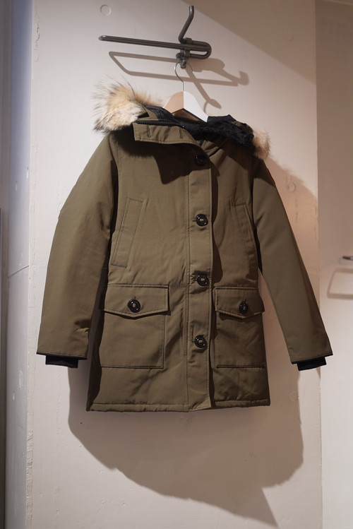 CANADA GOOSE / BRONTE PARKA(MILITARY GREEN)