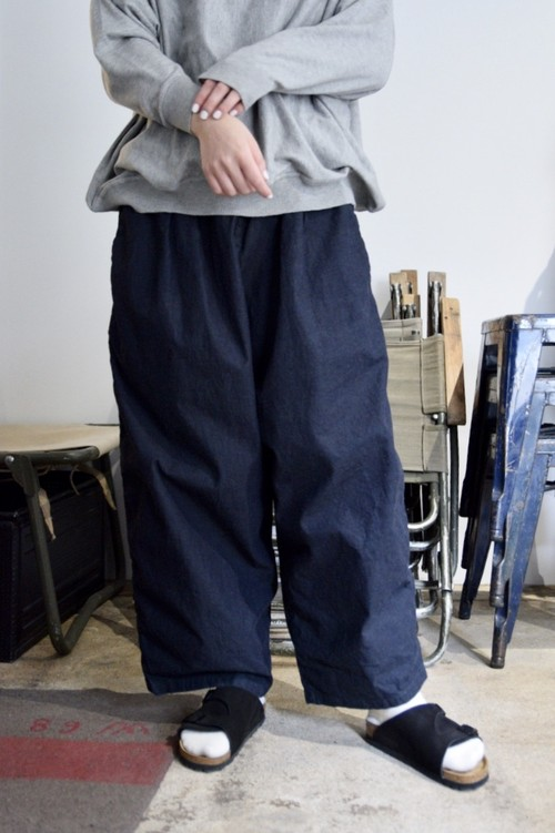RESTOCK【ORDINARY FITS】NARROW BALL PANTS ONEWASH/OF-P048OW