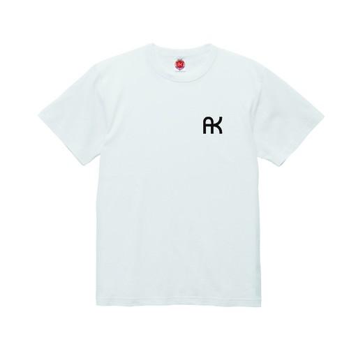 a.k.a samurai action  AKヘビーウェイトTシャツ ホワイト