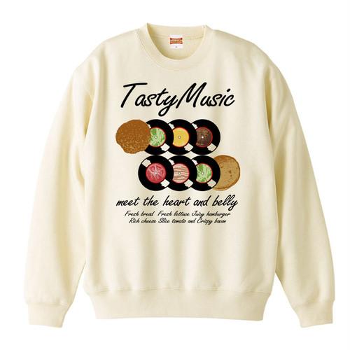 [カジュアルスウェット] Tasty music / Natural