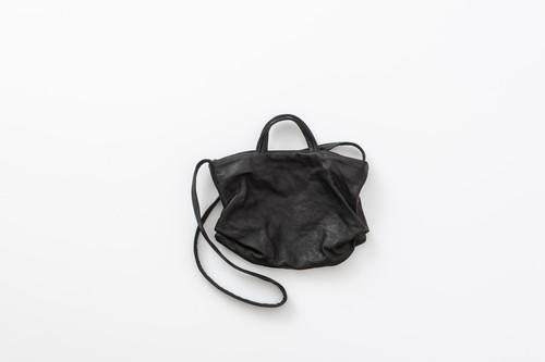 MUJI:shoulder bag-  S. black