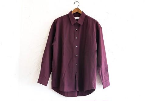 MCWオリジナル リラックスシャツ レギュラーカラー