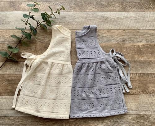 Knit apron
