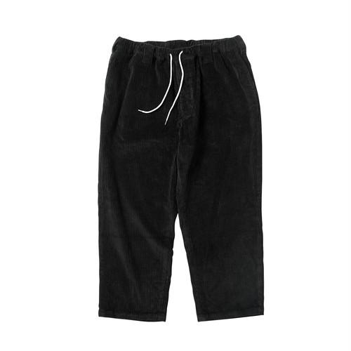 TIGHTBOOTH BAGGY CORD PANTS BLACK  タイトブース