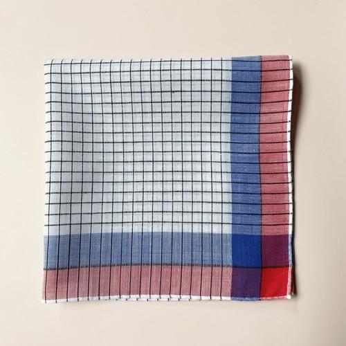 France ヴィンテージハンカチ (Tricolor) / ac0182