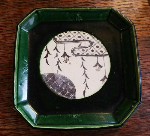 織部大皿 伊藤千穂 陶器