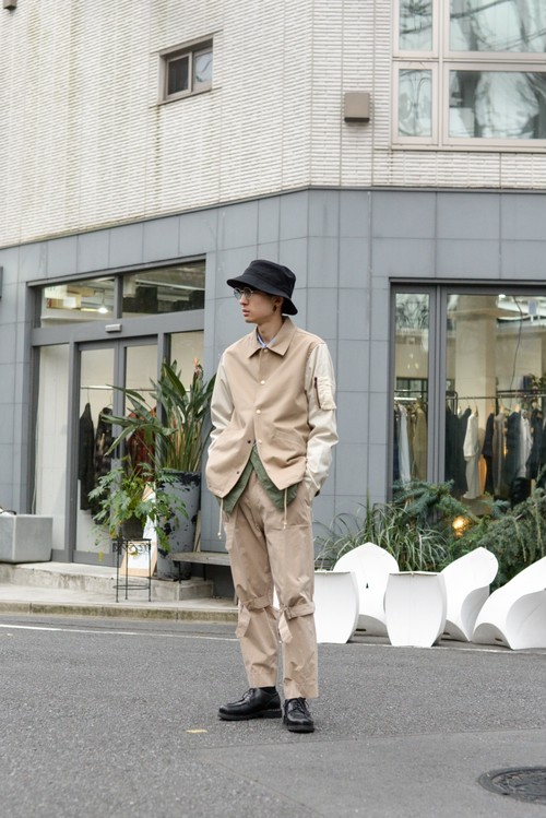 yotsuba - Switching Coach Jaket / Beige ¥28000+tax