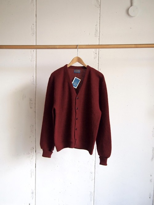 DEADSTOCK / PENDLETON, Wool knit cardigan