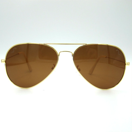 "Shady Spex ""TV Eye"" sunglasses, Gold w/Polarized Brown lenses"