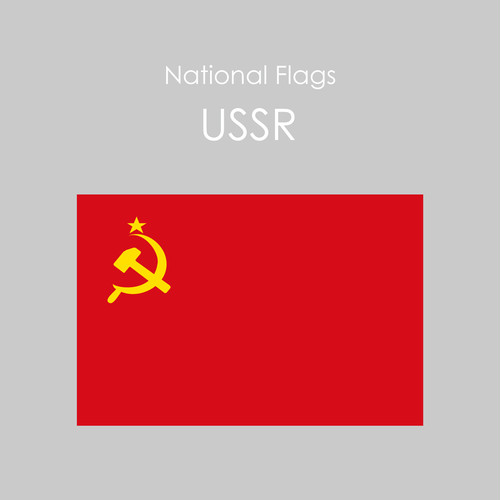 National Flags Sticker [USSR]