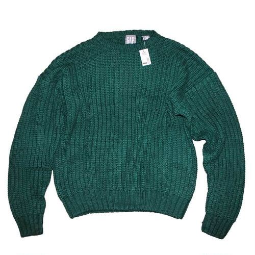 """ GAP "" 55/45 ( Ramie / Cotton ) Sweater"