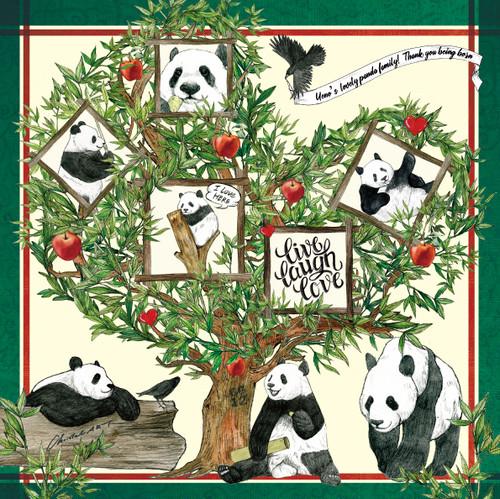 ◆即納◆「tree of xiang xiang 」柄 コットンバンダナ◆ChristalART限定色