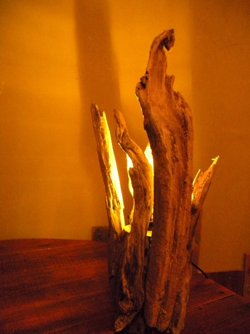 ◆誕生◆流木照明・ルームランプ