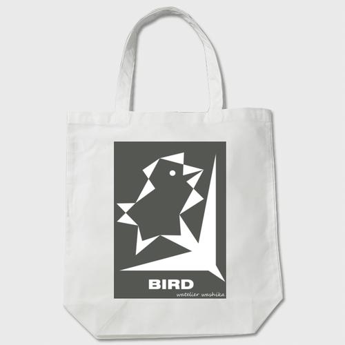 birdgray わしかオリジナルトート(白orベージュ)※送料無料