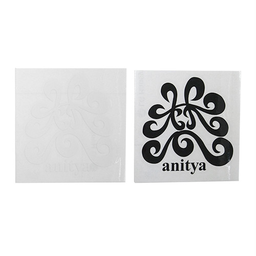 anitya - 梵 STICKER (White) (Black)