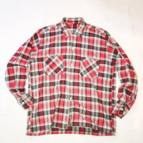 50's hombre  check shirt