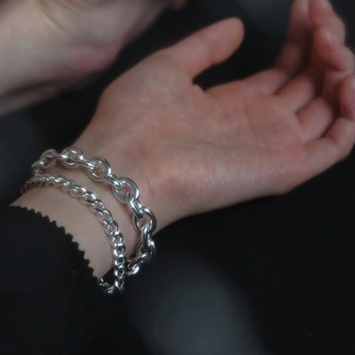 N-S3 silver925 chain bracelet