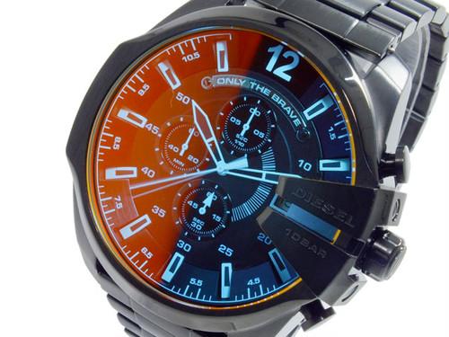 ディーゼル DIESEL クオーツ メンズ クロノ 腕時計 DZ4318 ブラック ブラック