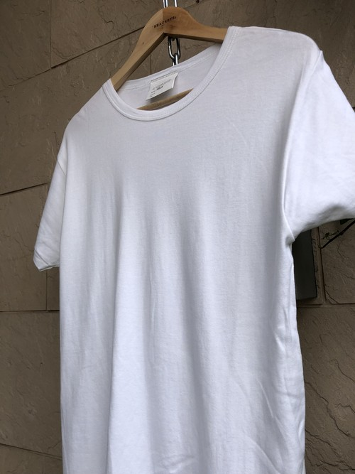 Old British military white cotton cook T-shirts