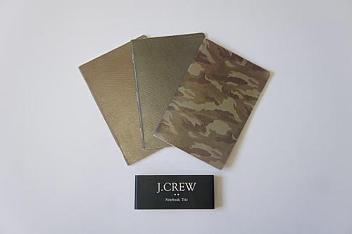 【メール便対応】J.CREW Jクルー NOTEBOOK TRIO Jクルー メモ帳 3冊セット