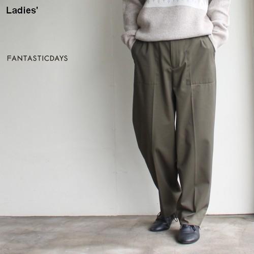 FANTASTICDAYS  ベーカートラウザー BAKER-83-01 (カーキ)