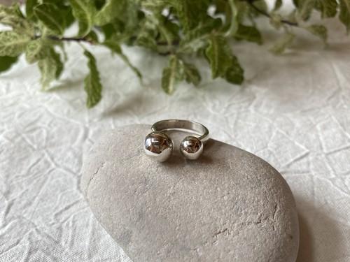 【aika jewelry】silver ball ring