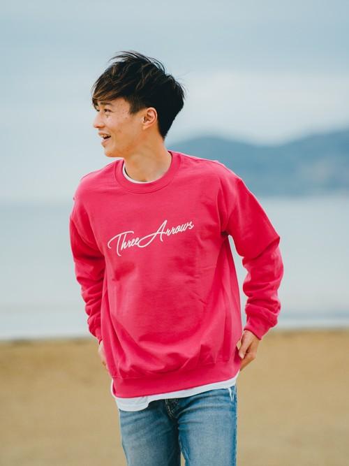 ThreeArrows SWEAT (pink × white)
