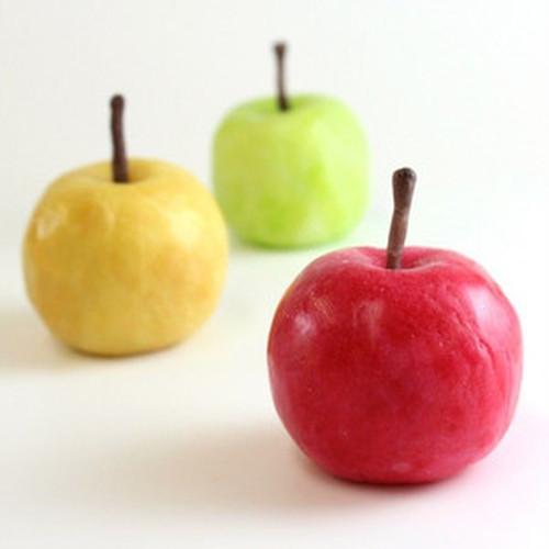りんごキャンドル