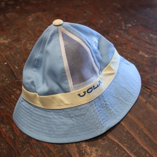 70.80s~ Ucla cotton poly mesh hat